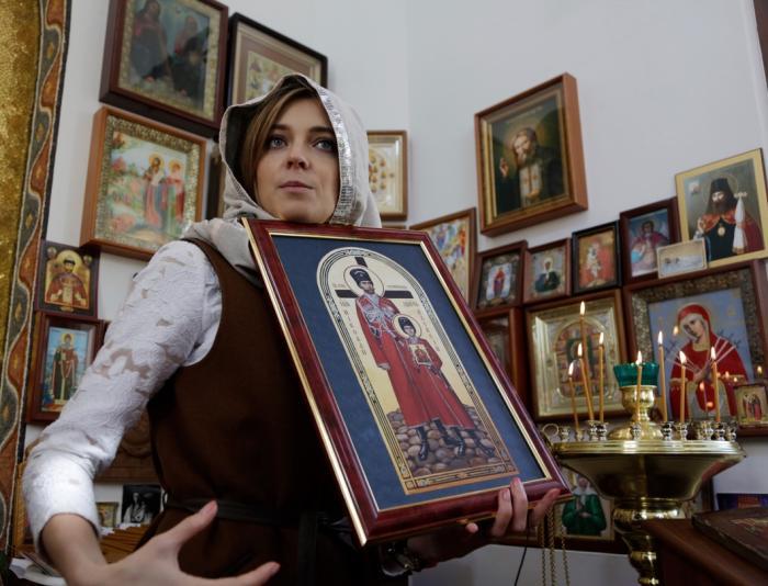 Почему героиня «крымской весны» Поклонская превратилась в клоуна