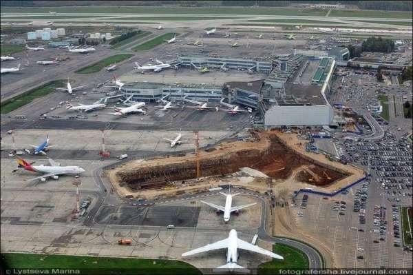 Как идёт стройка аэропорта «Домодедово», май 2018 года ...