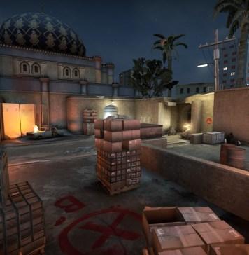 Скачать карту Dust 2 Night для CS:GO