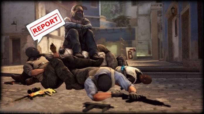 Репорт боты против читеров в CS:GO