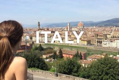 въехать в италию