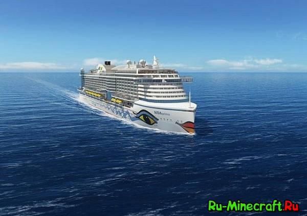 [Map] Aida Prima — Круизный лайнер » Скачать карты для ...