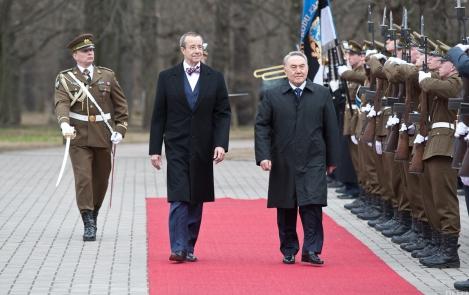 Порты Эстонии готовы способствовать выходу Казахстана к мировому морю и мировой торговле