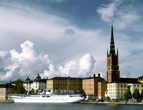 Столица Швеции Стокгольм