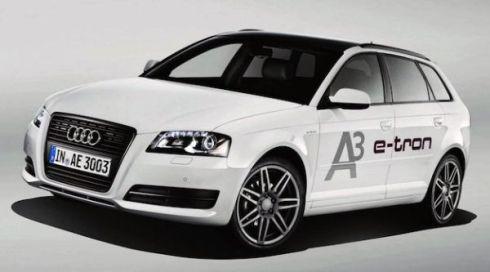 Новый электромобиль Audi Е-Тron А-3