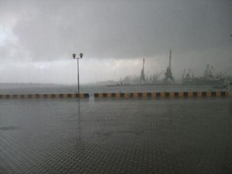 В Клайпеде ожидается сильная буря