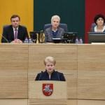 Президент Литовской Республики Даля Грибаускайте внесла на рассмотрение Сейма кандидатуру Альгирдаса Буткявичюса на должность премьер-министра.