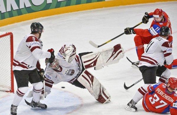 Сборная России успешно стартовала на чемпионате мира по хоккею в Хельсинки
