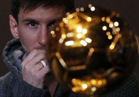 """Лео Месси является четырехкратным обладателем """"Золотого мяча""""."""