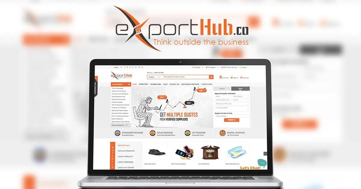 Exporthub.com – инновационная B2B платформа