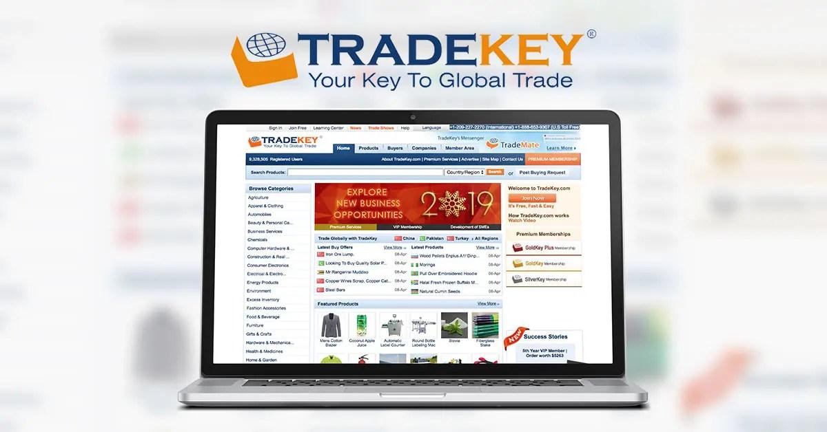 TradeKey — Международная B2B платформа