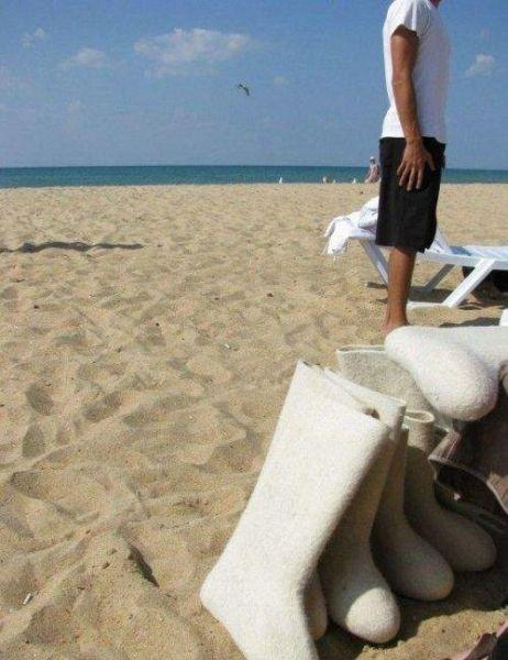 Пляжные отжиги (25 фото)