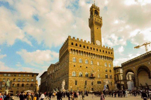 История Палаццо Веккьо, Флоренция