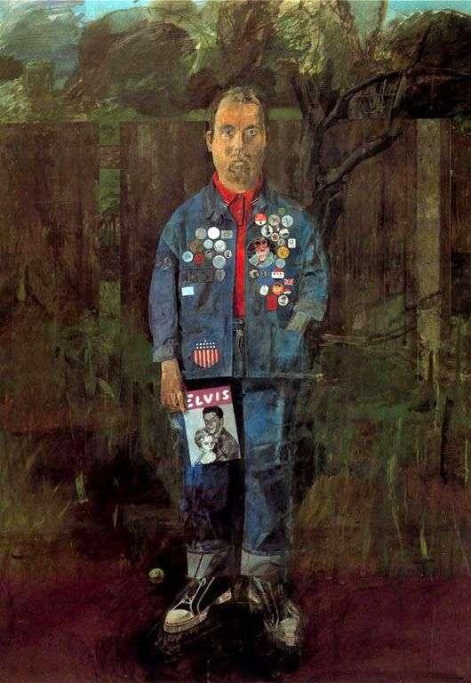 Описание картины «Автопортрет с журналом» — Питер ...