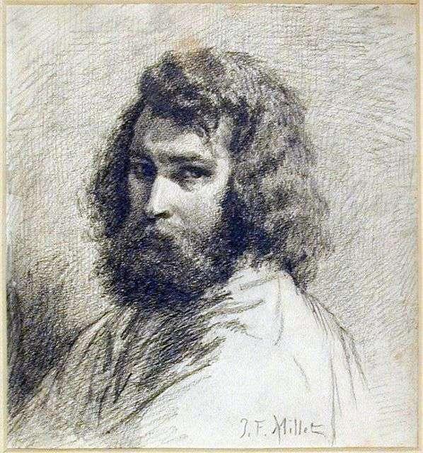 Описание картины «Автопортрет» — Жан Франсуа МиллеШедевры ...