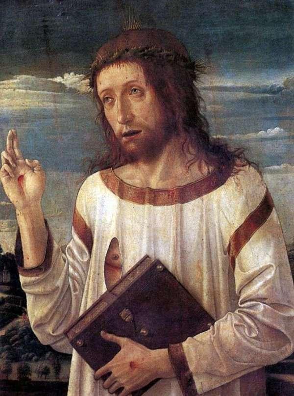 Описание картины «Благословляющий Христос» — Джованни ...