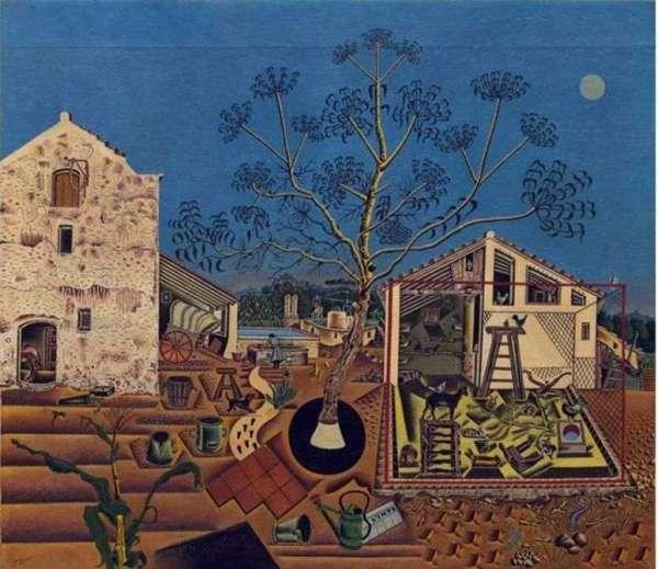 Описание картины «Ферма» — Хуан Миро 👍 - Миро Хуан