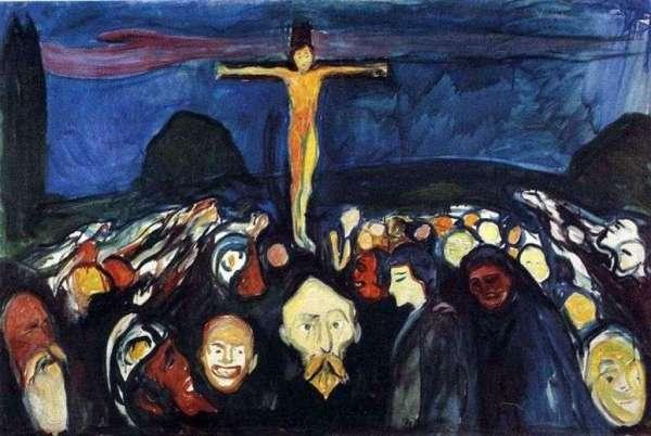 Описание картины «Голгофа» — Эдвард МункШедевры мировой ...