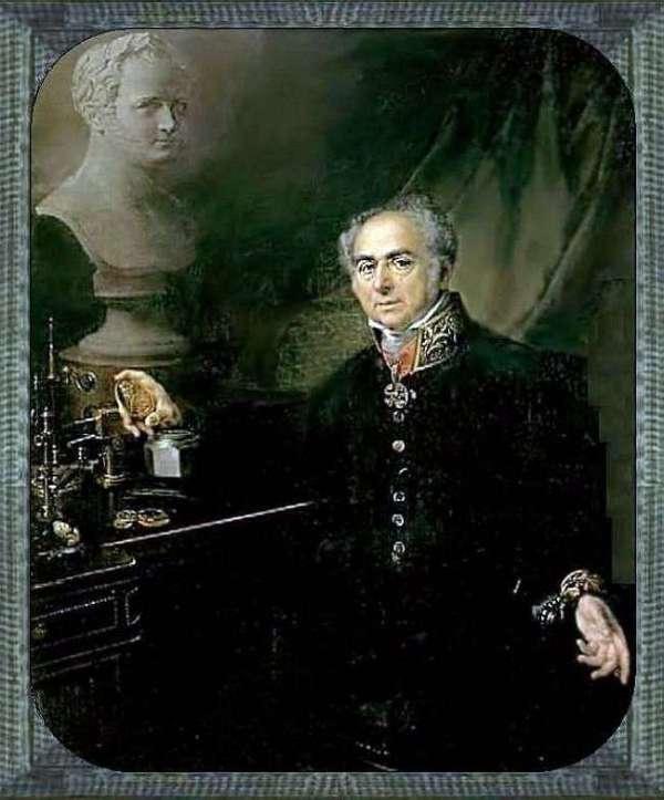 Описание картины «Портрет K. A. Леберехта» — Василий ...