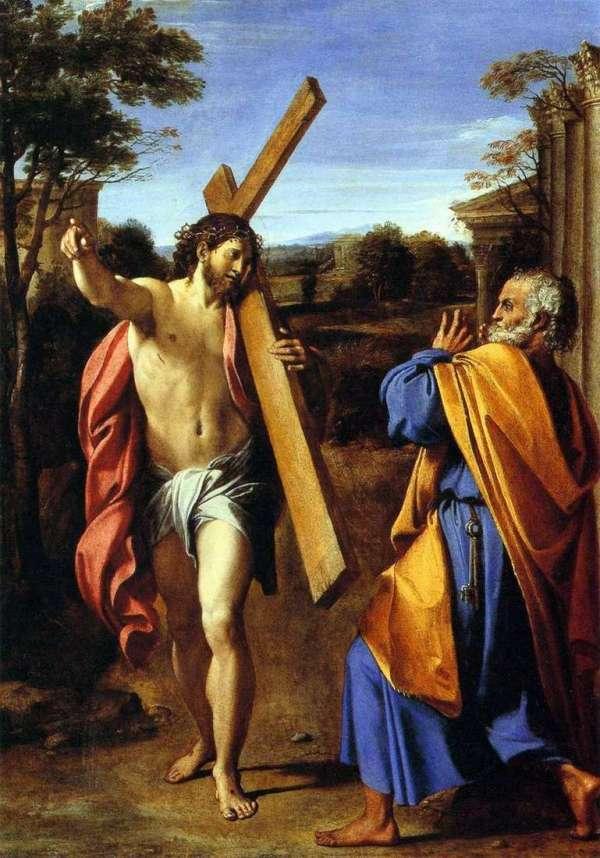 Описание картины «Господи, камо грядеши?» — Аннибале ...