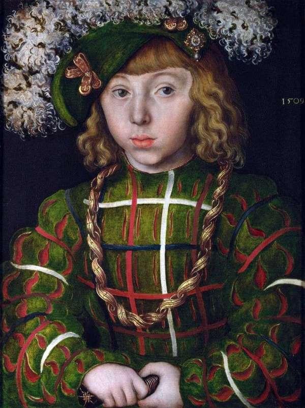 Описание картины «Иоганн Фридрих Великодушный» — Лукас ...