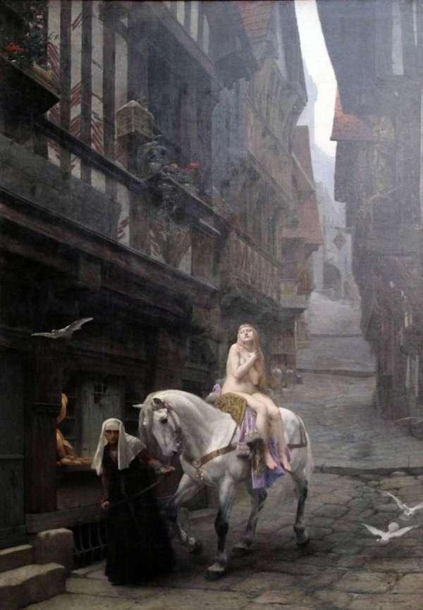 Описание картины «Леди Годива» — Жюль Жозеф ЛефеврШедевры ...