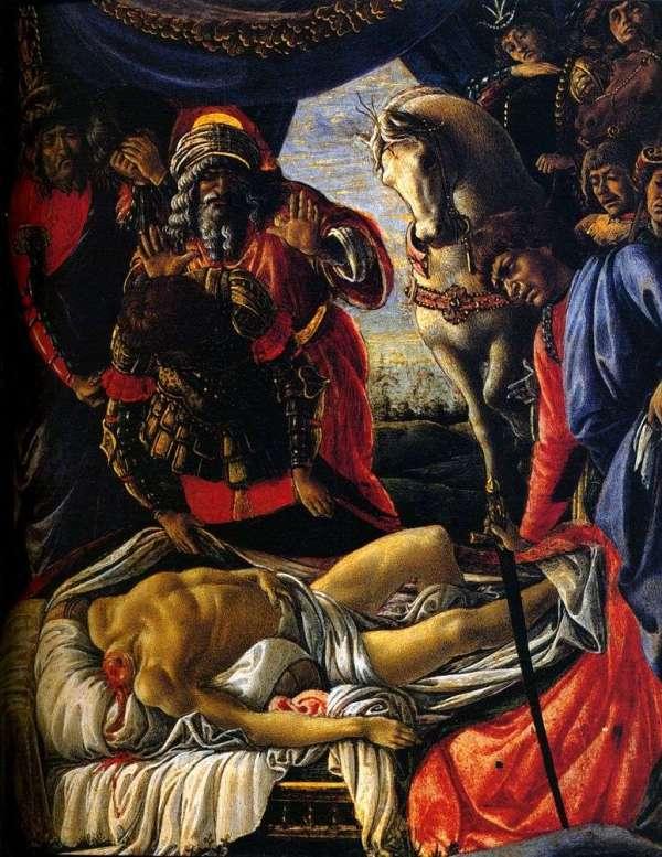 Описание картины «Нахождения тела Олоферна» — Сандро ...