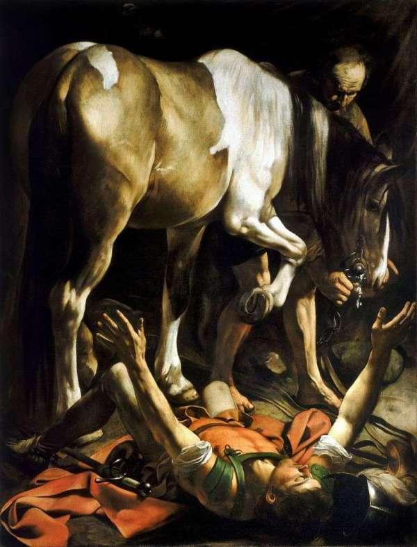 Описание картины «Обращение Савла» — Микеланджело Меризи ...