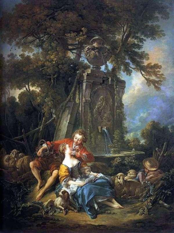 Описание картины «Осенняя Пастораль» — Франсуа БушеШедевры ...
