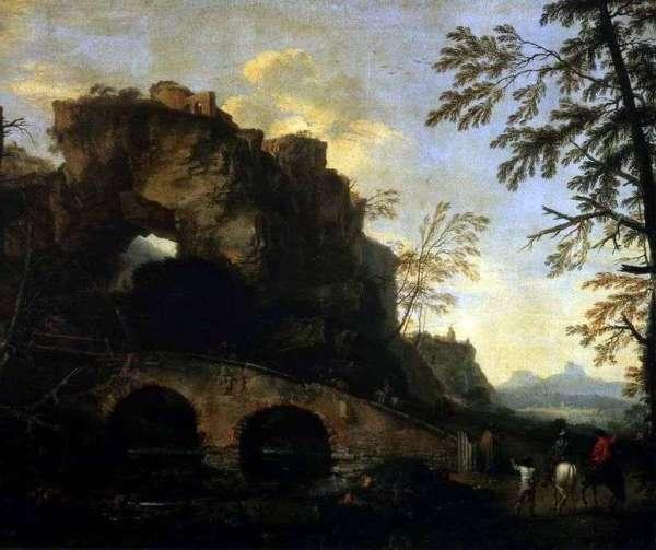 Описание картины «Пейзаж с разрушенным мостом» — Роза ...
