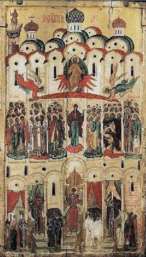 Описание картины «Покров БогоматериШедевры мировой живописи👍