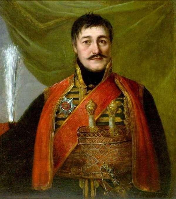Описание картины «Портрет Карагеоргия» — Владимир ...