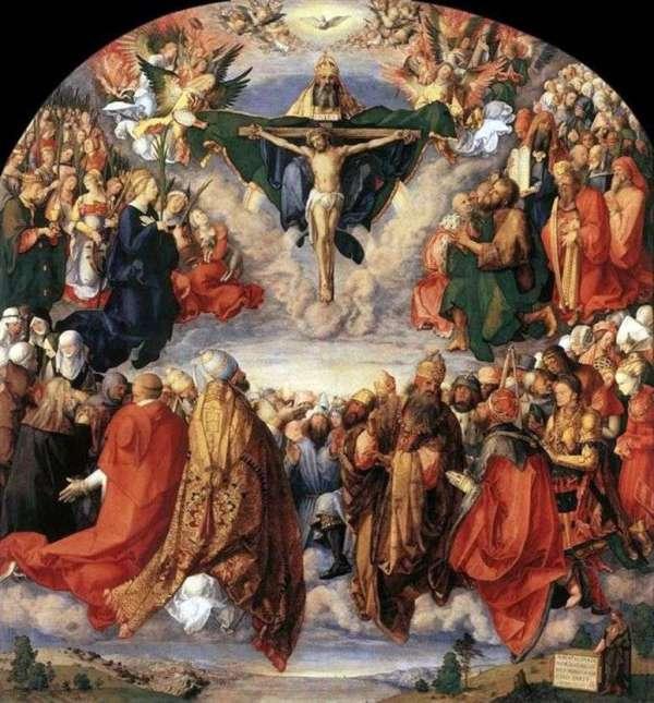 Описание картины «Праздник всех святых» — Альбрехт Дюрер ...