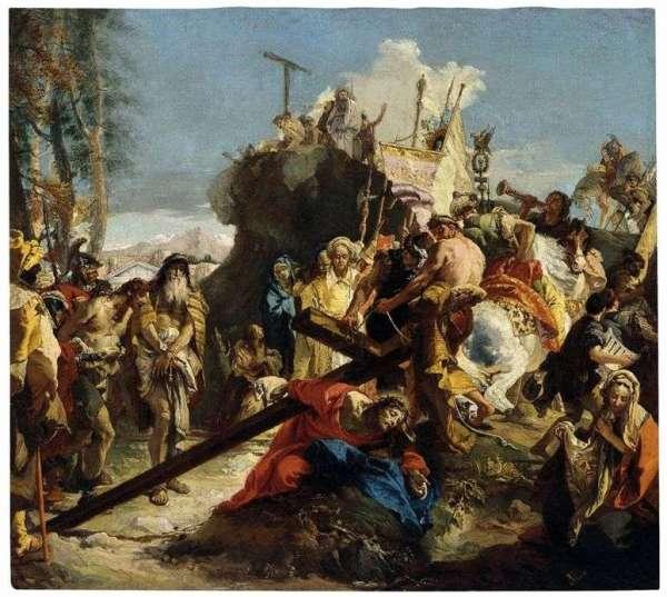 Описание картины «Путь на Голгофу» — Джованни Баттиста ...