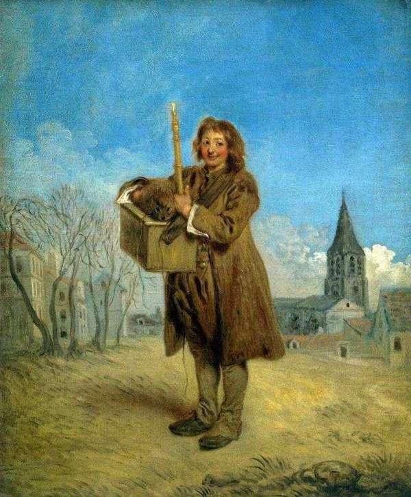 Описание картины «Савояр с сурком» — Жан Антуан Ватто ...