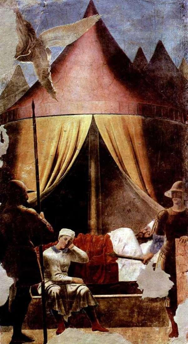 Описание картины «Смерть Адама» — Пьеро делла ...