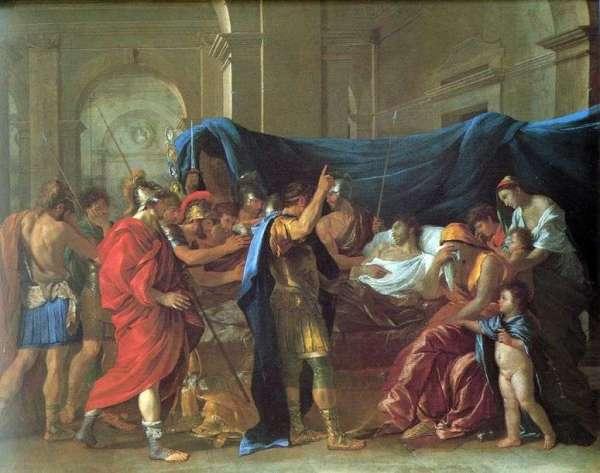 Описание картины «Смерть Германика» — Никола ПуссенШедевры ...