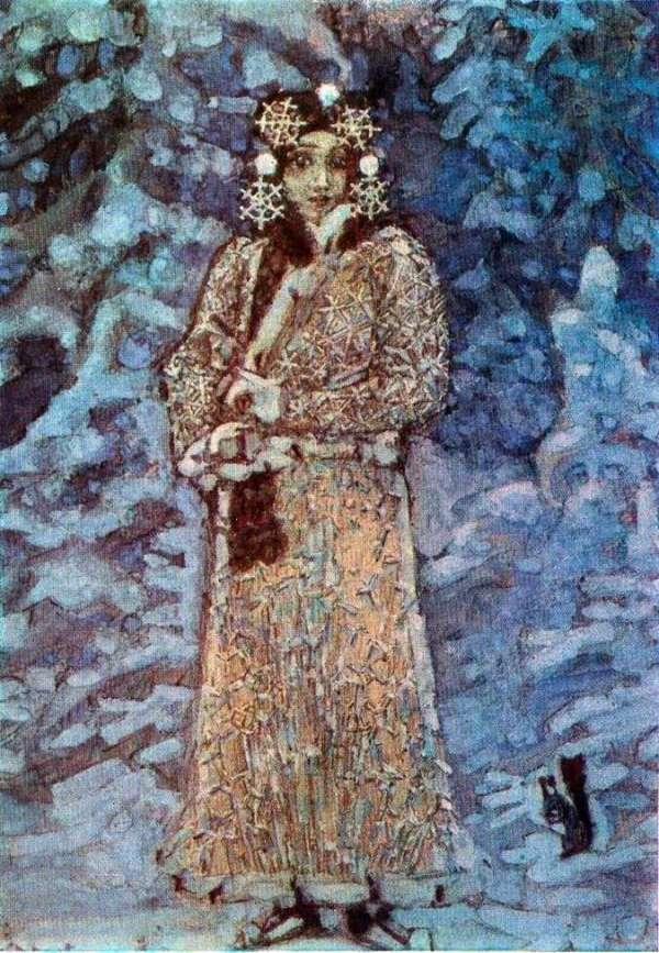 Описание картины «Снегурочка» — Михаил ВрубельШедевры ...