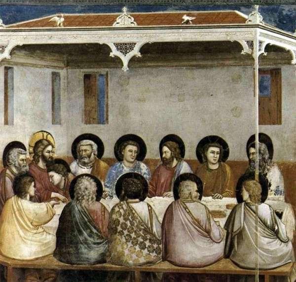 Описание картины «Тайная вечеря» — ДжоттоШедевры мировой ...