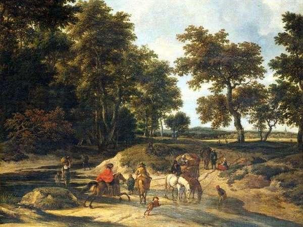 Описание картины «В лесу» — Якоб ван РейсдалШедевры ...