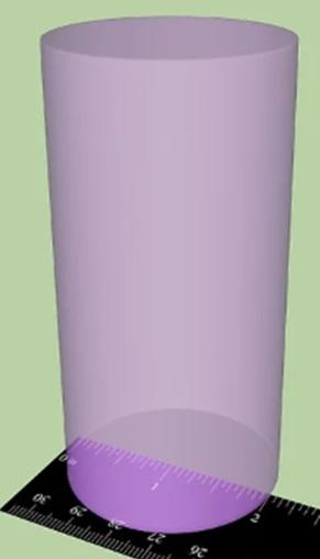 Как найти объем цилиндра