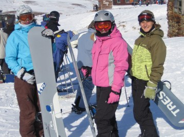 Queue for the 'Cliffy' Chairlift