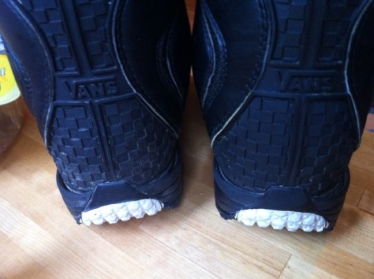 cf2808fad1 Vans Cirro 2011. Heelcup separating from leather uppers on both boots. Both  boots affected with less than one season s ...