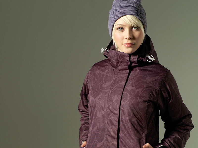 A subtle fabric print for a range of snowsport jackets.