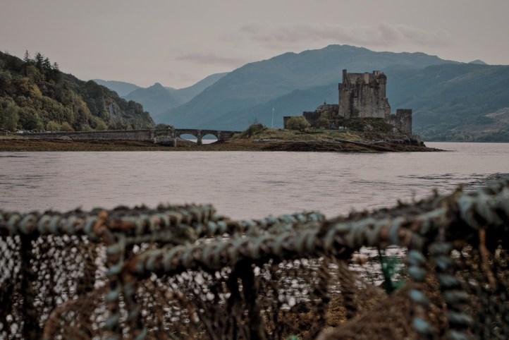 Eileen Donan castle on Loch Duich