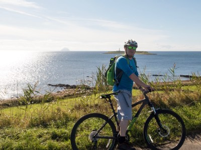A bike ride around Arran, staying at the Brodick Bunkhouse