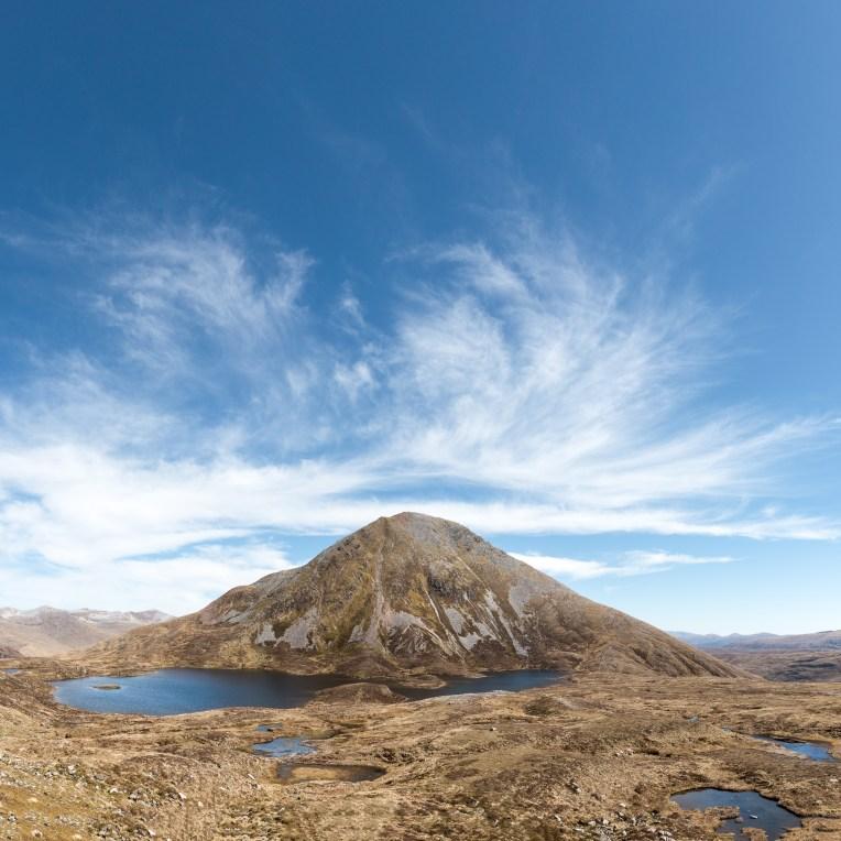 the peak of Sgùrr Eilde Mòr