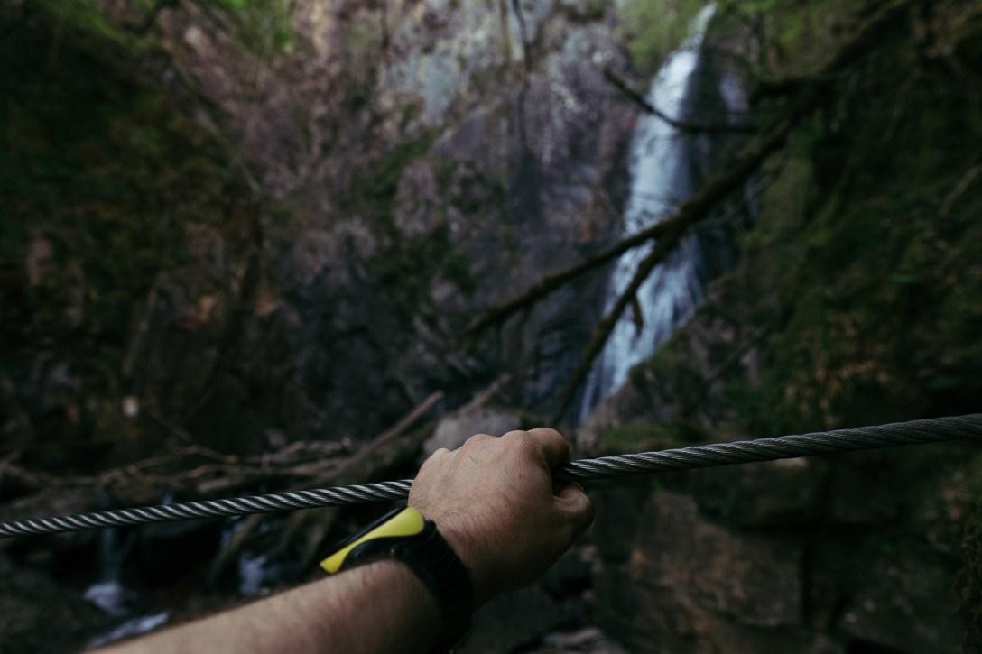 Grey Mares Waterfall Via Ferrata