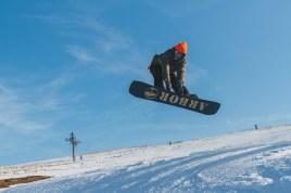 arbor snowboard rail jam