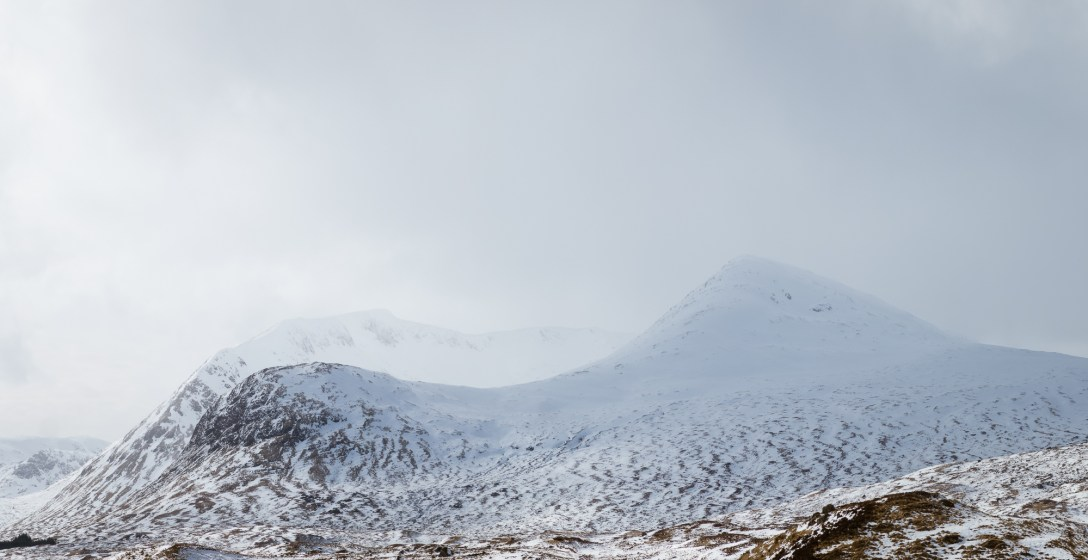 Meall a'Bhùiridh from the road